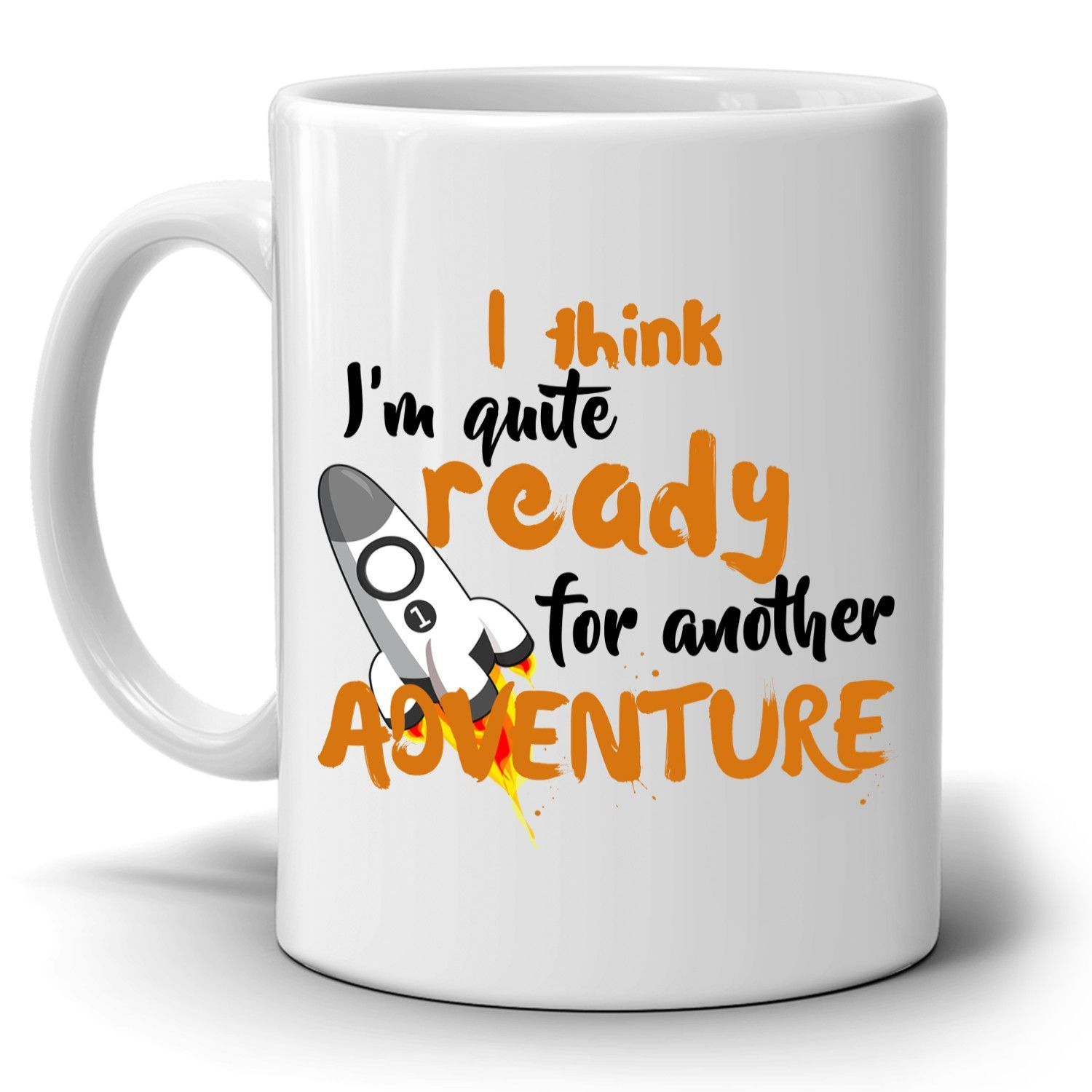 Funny Adventure Graduation Gifts Coffee Mug for Men and