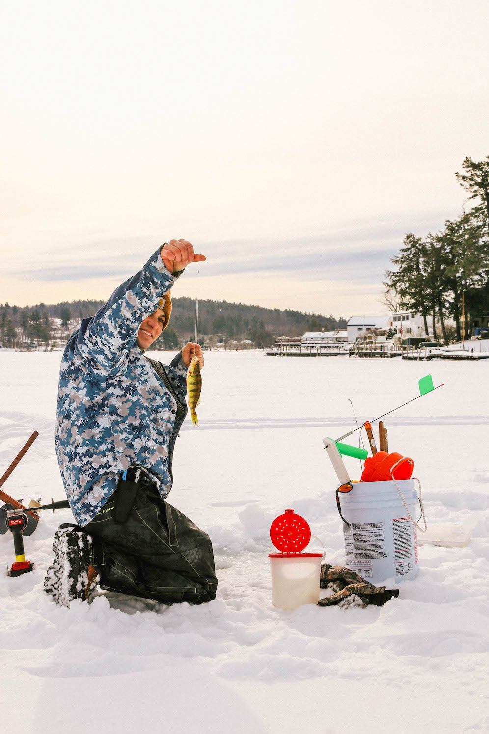 Ice Fishing In New England The Coastal Confidence by