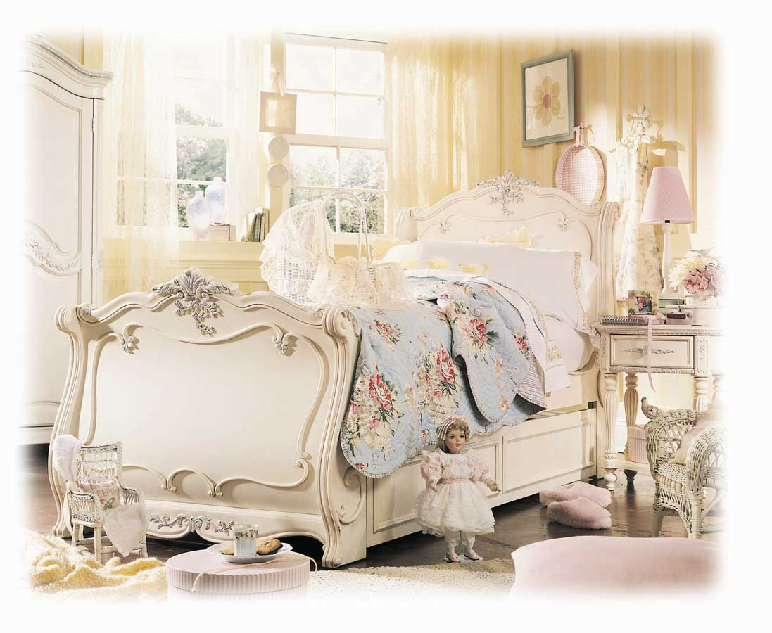 Lea Jessica Mcclintock Romance Sleigh Bed Furniture In 2020