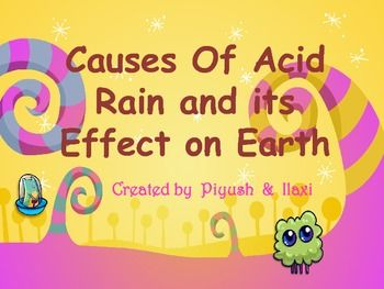 the problem of acid rain and its effects For this reason, acid rain is considered a global problem what are its effects acid rain has been linked to detrimental effects in the environment and in human health.