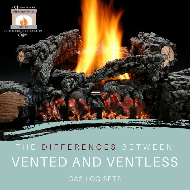 The Differences Between Vented And Ventless Gas Log Sets Ventless