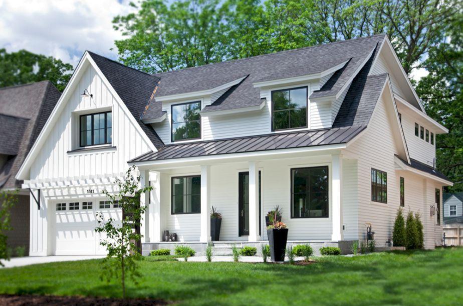 awesome 60 Modern Farmhouse Exterior Design Ideas