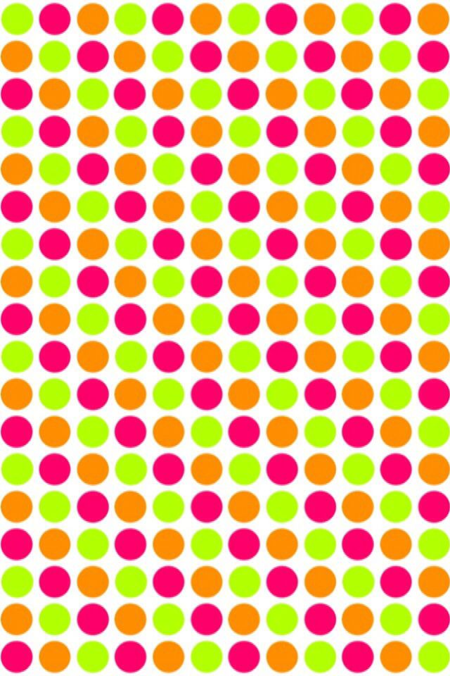 iPhone Wallpaper - Polka Dots   tjn