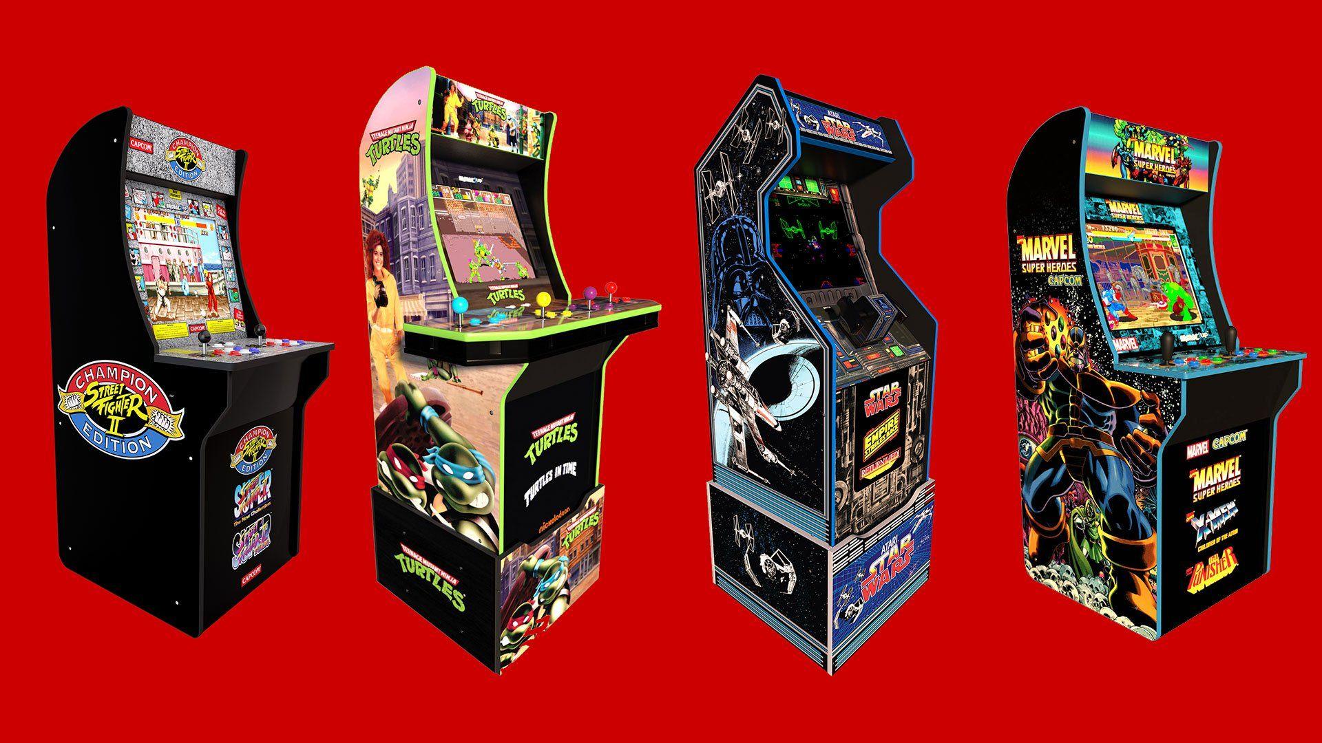 Arcade1up Arcade Cabinet Black Friday Deals Up To 100 Off Arcade Star Wars Game Street Fighter 2 Arcade
