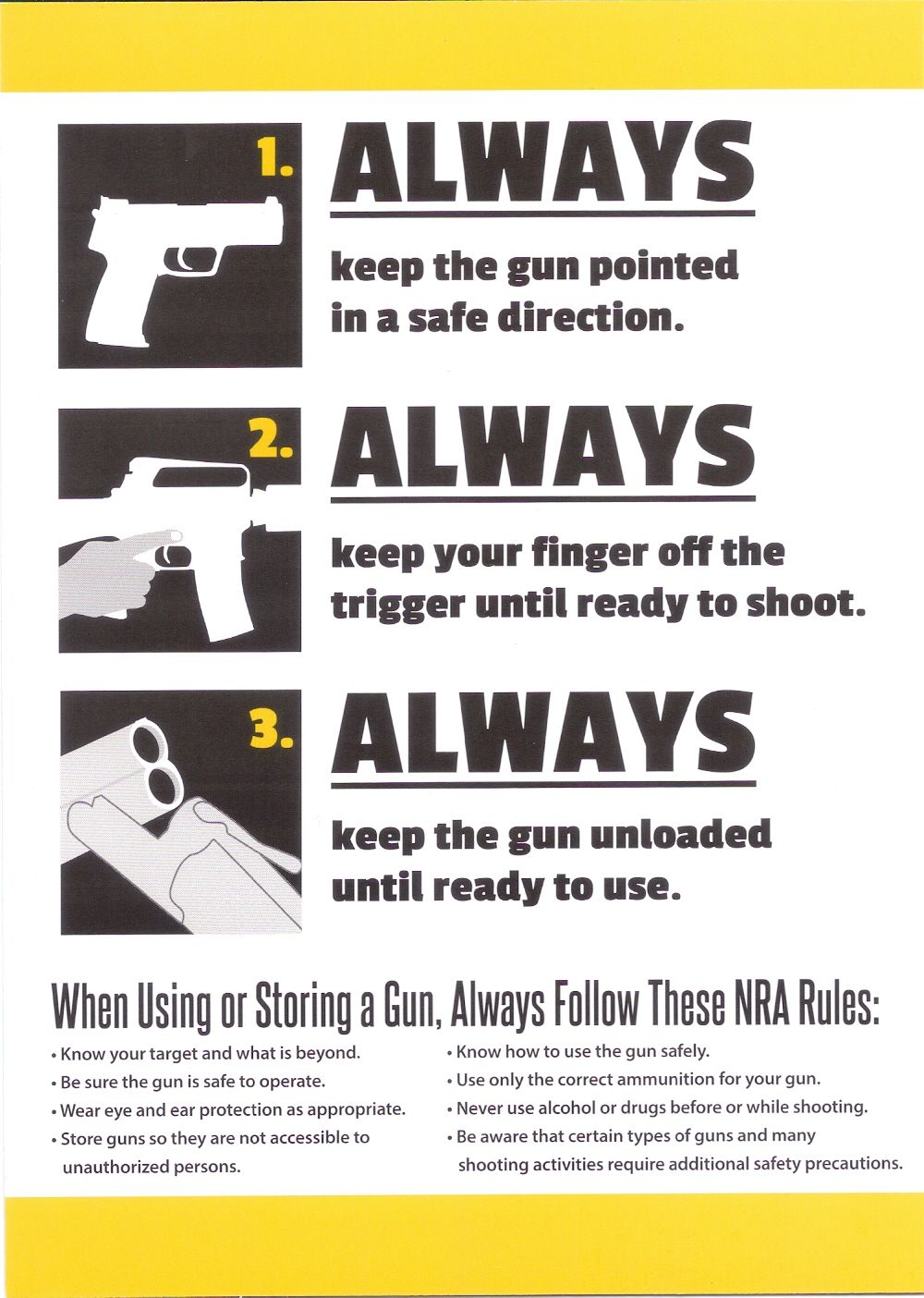 Pin on Firearms and Safety Instructions