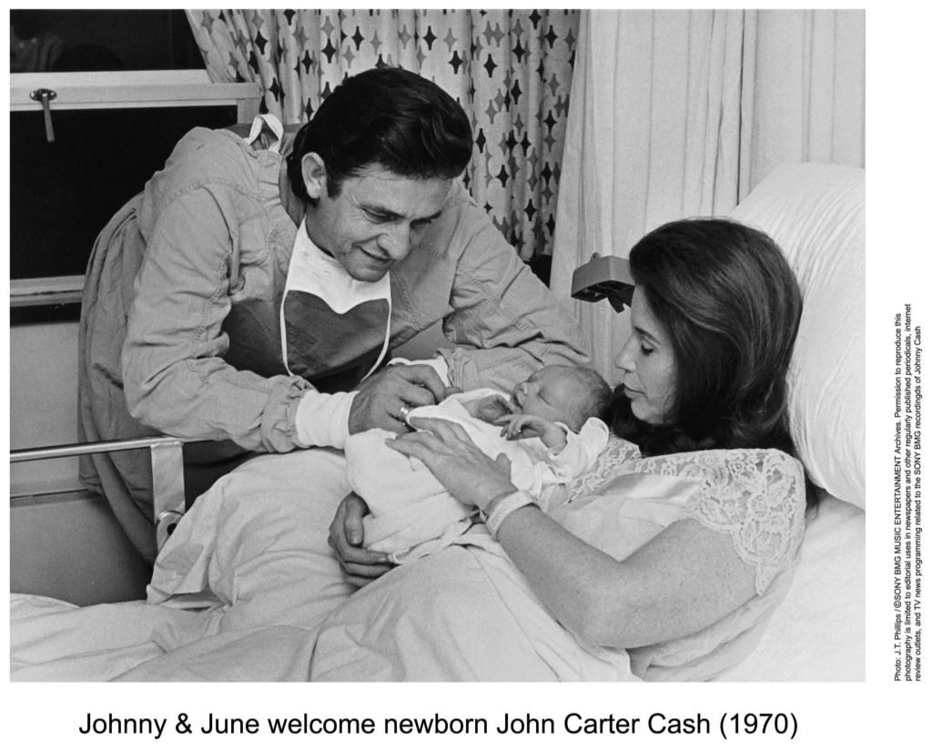 Johnny Cash Pool Song Johnny Cash And June Carter With John Carter Cash 1970 Hello I