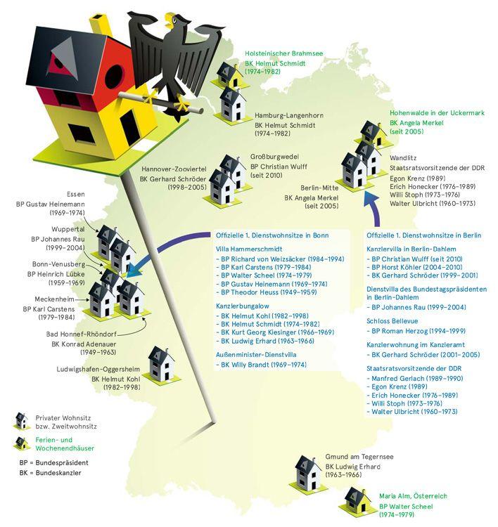 deutschlandkarte wohnorte von politikern zeitmagazin deutschlandkarte. Black Bedroom Furniture Sets. Home Design Ideas