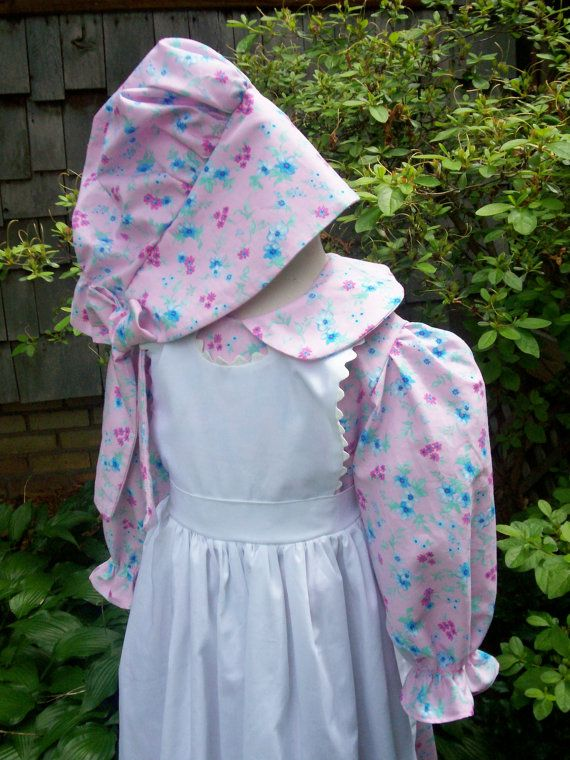 638014fc0 Girls Pioneer Dress / Little House on the Prairie costume.sizes