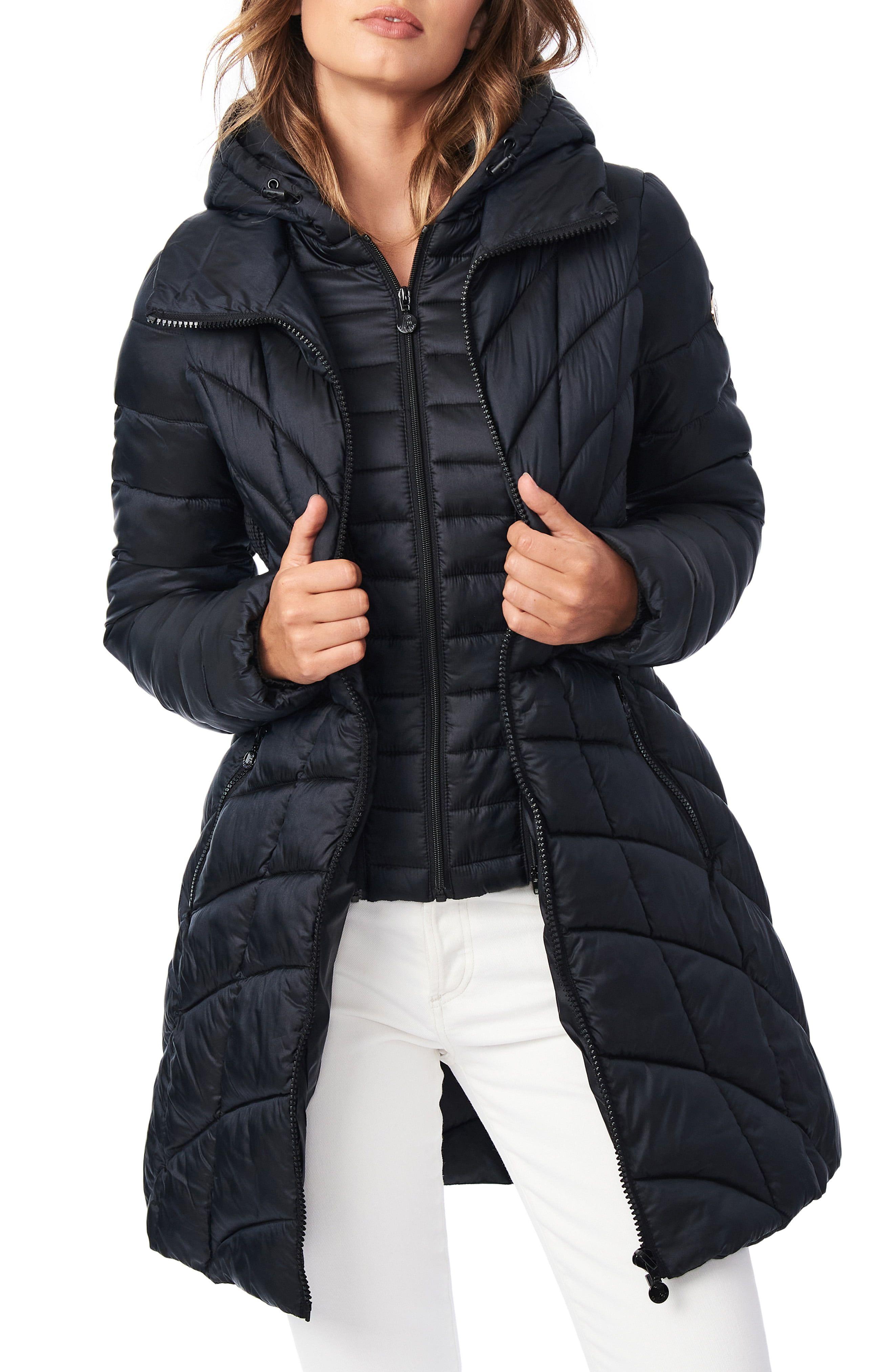 Bernardo Mixed Quilt Ecoplume Packable Hooded Puffer Jacket Nordstrom In 2021 Puffer Jackets Puffer Coat Coats For Women [ 4048 x 2640 Pixel ]