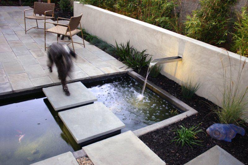 Bassin De Jardin 25 Idees Pour Rafraichir Votre Exterieur Bassin De Jardin Jardin Exterieur Et Jardins
