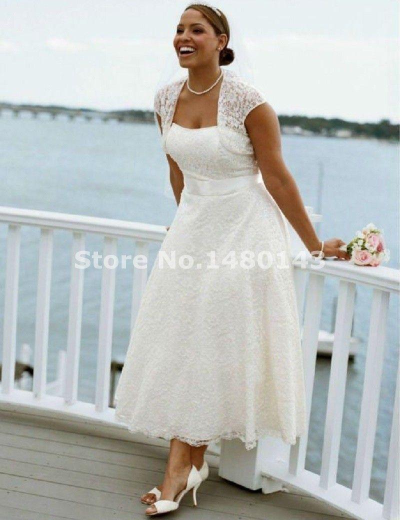 Informal Plus Size Wedding Dresses Images Design Ideas