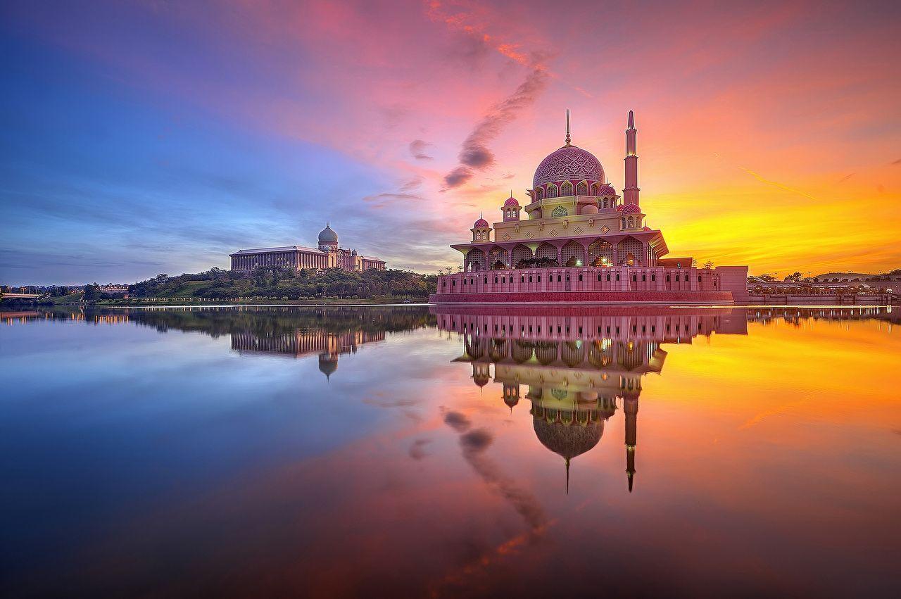 صور دينية متحركه فوتوغرفيا جرافيك City Architecture Mosque Putrajaya