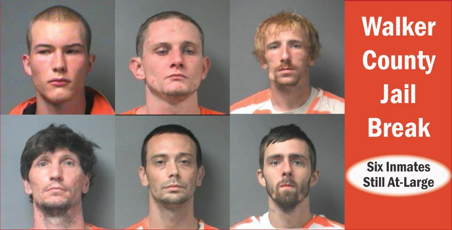 Walker County Jail Break: 6 Inmates Still At-Large | County