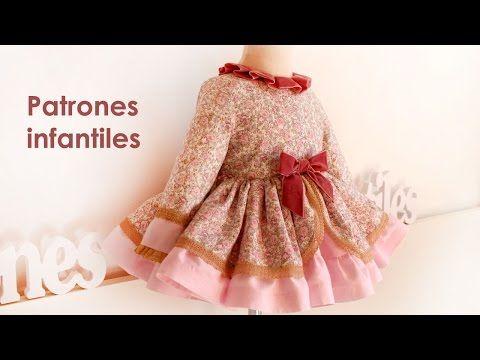 Of Patrón Manga Children Vestido Youtube FrancesaPatterns CBedxWro