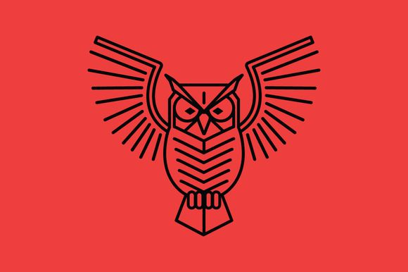 Simple Minimalist Owl Tattoo: Simple Owl By Olddirtydermot On @creativemarket
