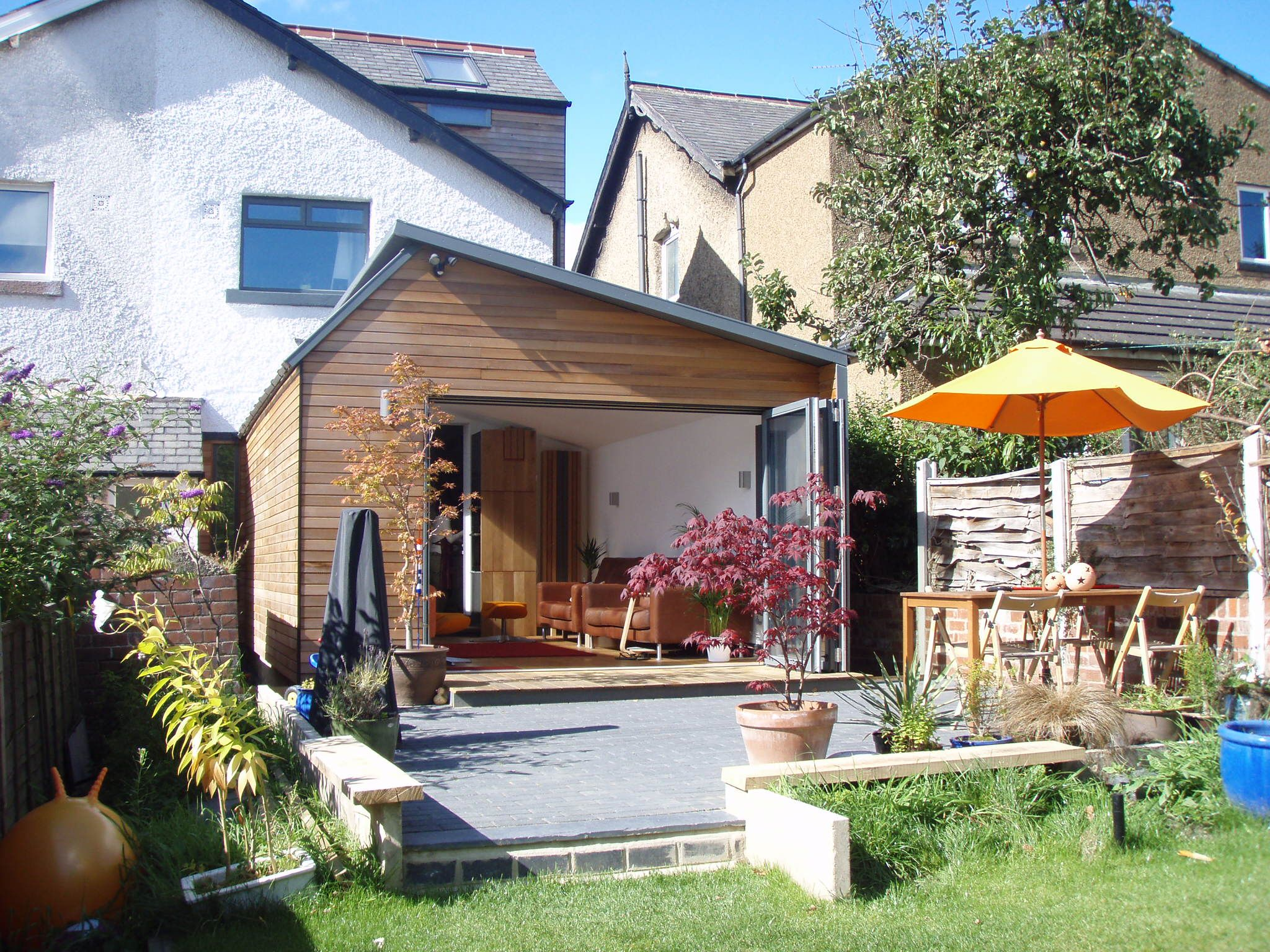 Sms Timber Frame- Contemporary Timber Frame Garden Room Extension