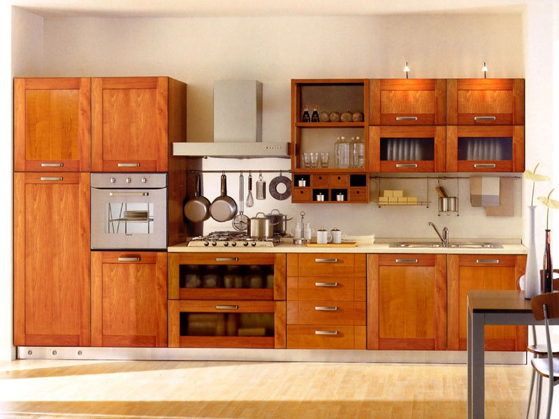 Elegant 21 Creative Kitchen Cabinet Designs