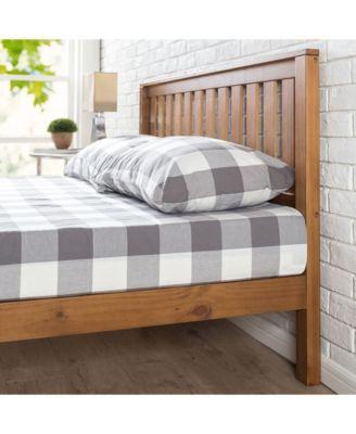 Best Zinus Alexia 12 Wood Platform Bed With Headboard Rustic 400 x 300