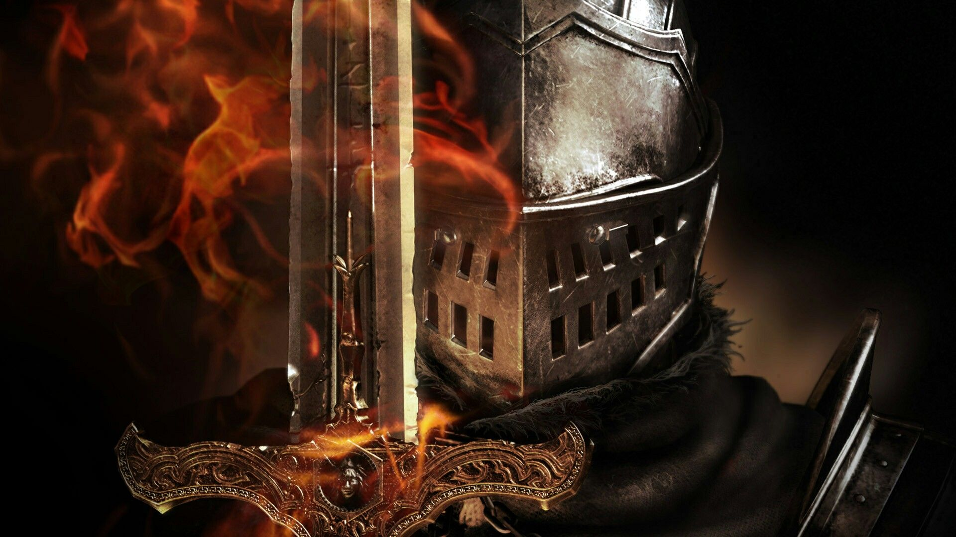 Knight Sword Wallpaper Hd Resolution Dark Souls Wallpaper Dark Souls Warriors Wallpaper