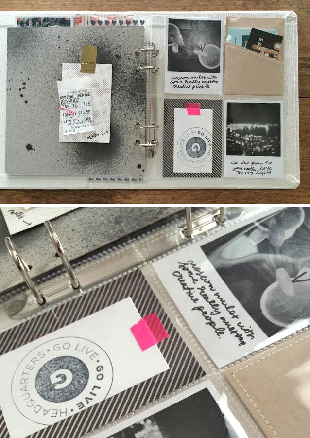 MADE BY CAY | a creative blog #madebycay #modernscrapbooking #projectlife