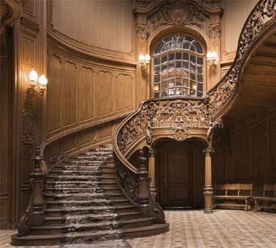 Best Image For Wooden Staircase Railing Luxury Background For 640 x 480