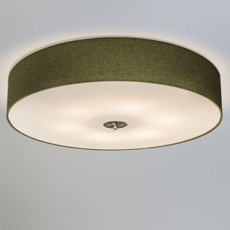 Deckenleuchte Drum 70 Jute grün #Lampe #Innenbeleuchtung - deckenleuchten für schlafzimmer