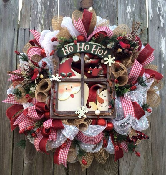 Country Christmas by Ba Bam Wreaths \u2026 Seasonal Western Wreaths