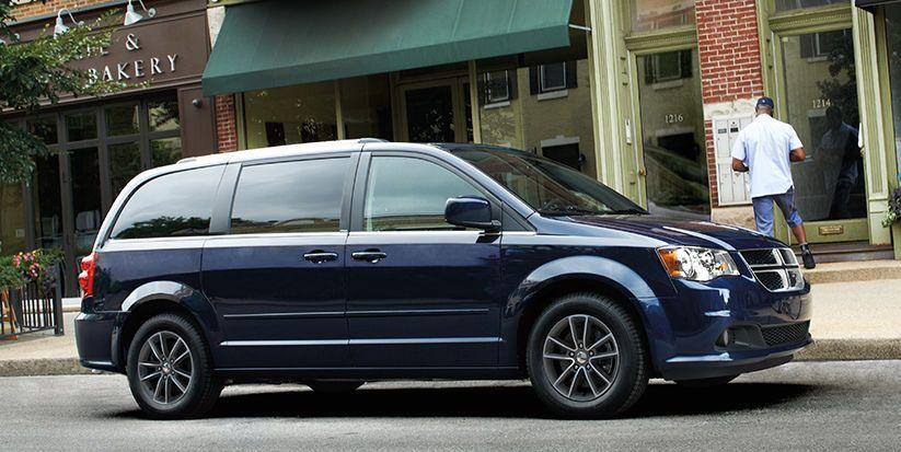 2016 Dodge Grand Caravan Sxt Plus Side View Grand Caravan 2015