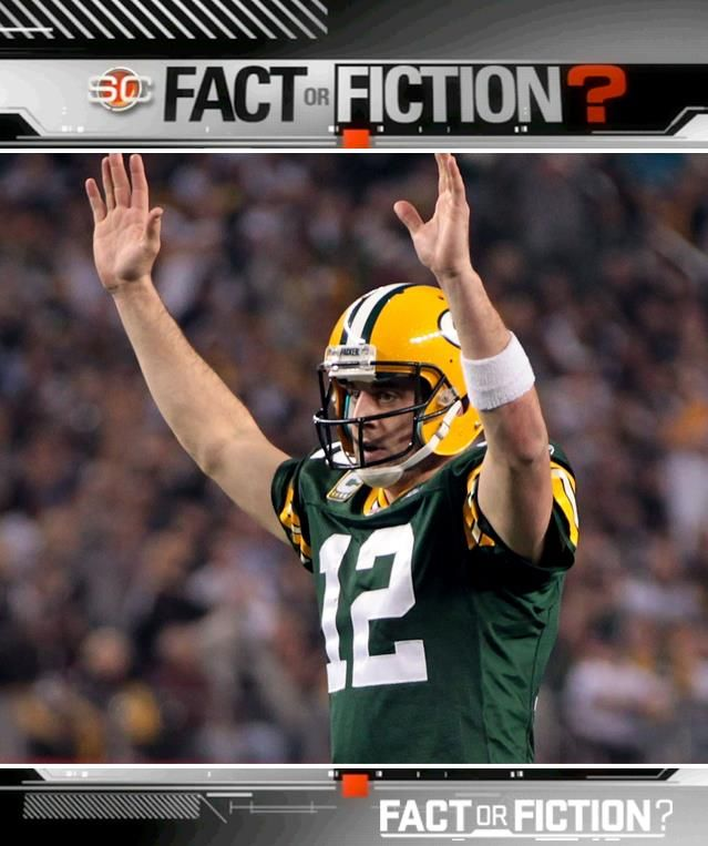FACT or FICTION: Aaron Rodgers is the BEST player in the NFL