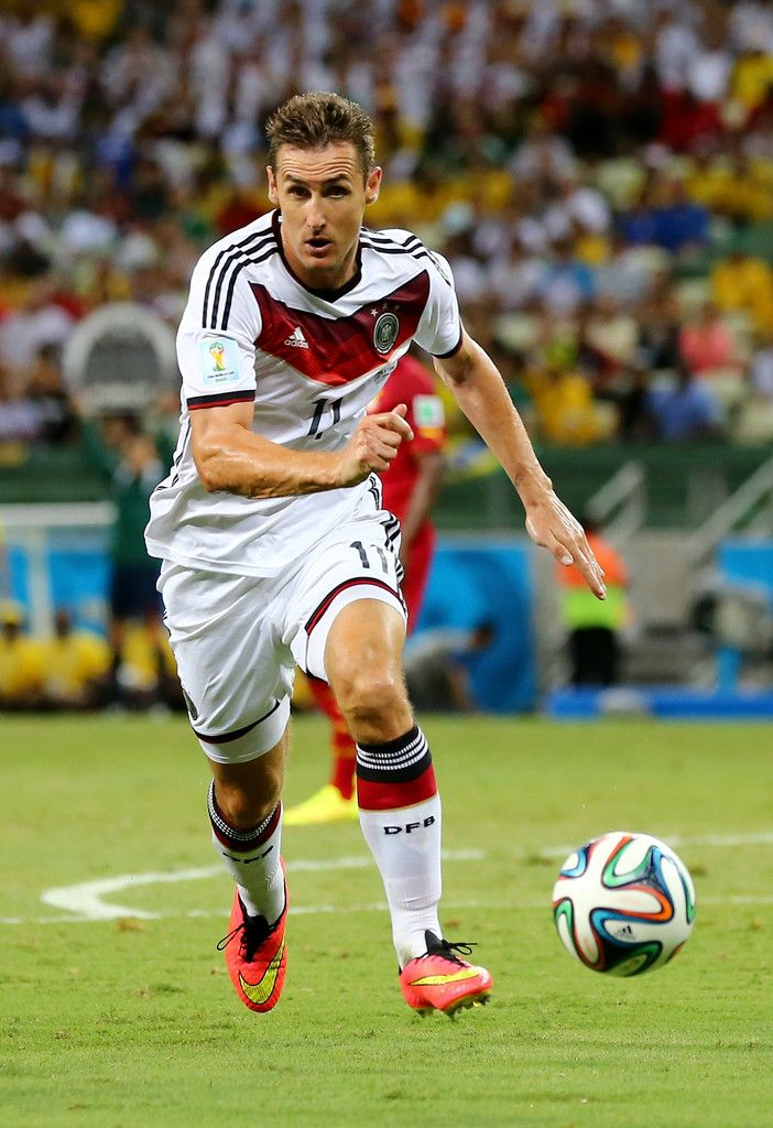 Miroslav Klose Germany Breaks World Cup Goal Record POSTER