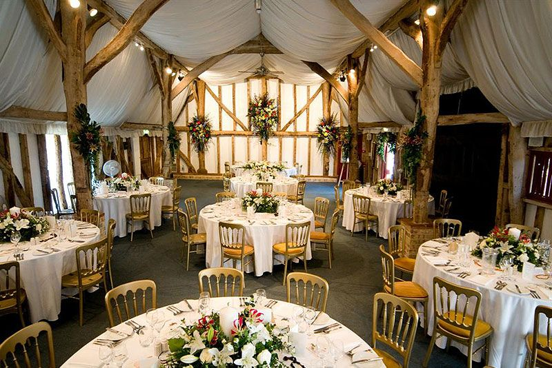 The Tudor Barn At South Farm Wedding Venue In Hertfordshire D Between Framework Beams