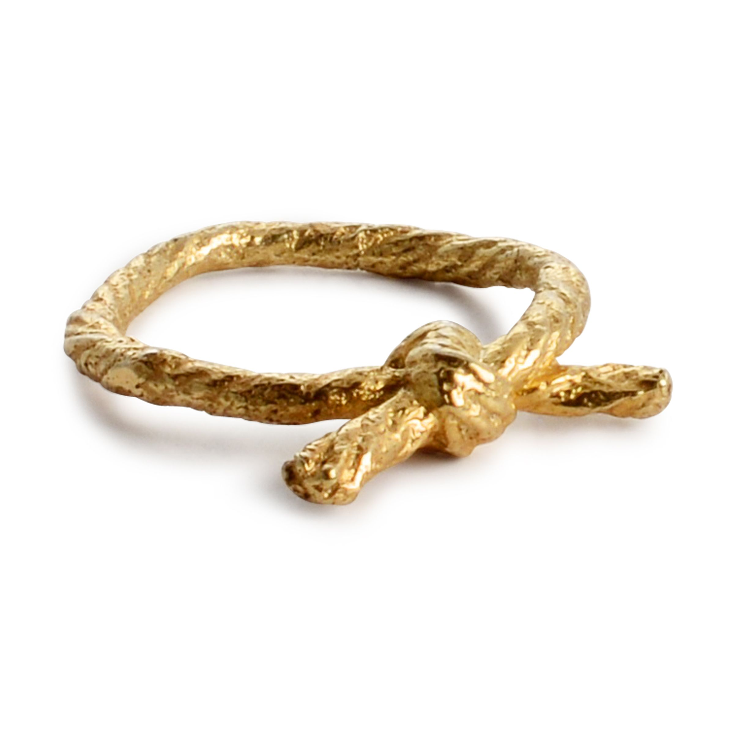 Knotted Ring Gold