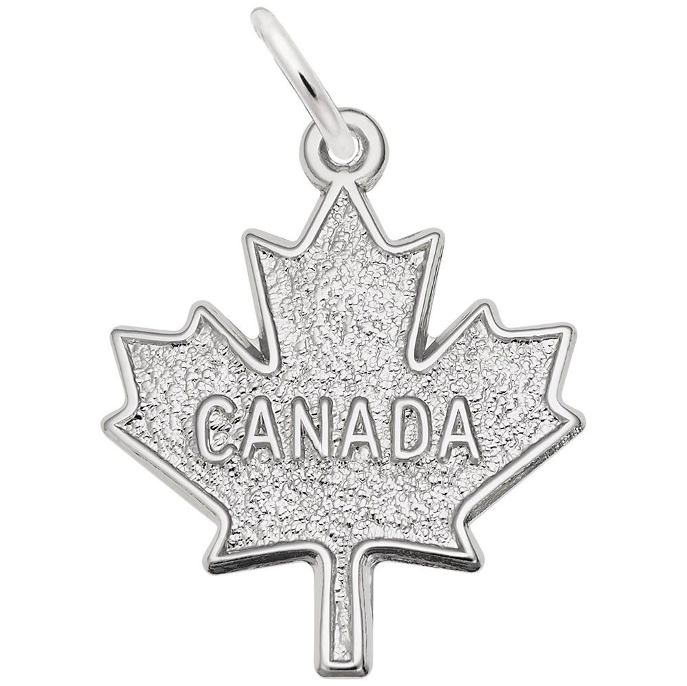 Rembrandt Charms Maple Leaf Charm