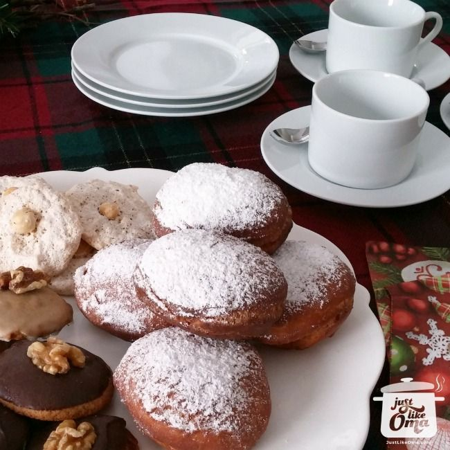 Jelly Donut ~ Berliner Pfannkuchen Recipe From the old country