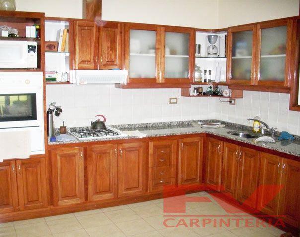 Mesadas de madera buscar con google cocina pinterest muebles de cocina muebles y cocinas - Buscar muebles de cocina ...