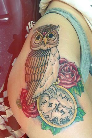 Tattoo: Spécial Hiboux/Owl