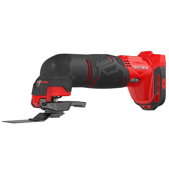 Craftsman Cordless Oscillating Tool V20 Max 12 Pieces Rona Oscillating Tool Tool Kit Cordless Reciprocating Saw