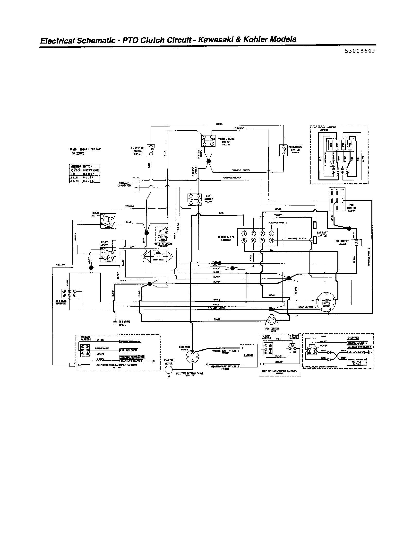 Diagram Country Clipper Jazee Mowers Wiring Diagrams