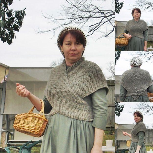 Knitting a Homemade Tess D'Urbervilles Shawl