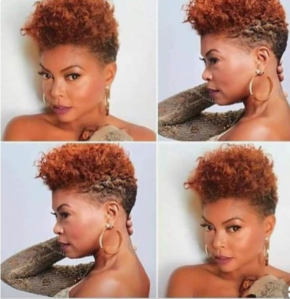 we are so in love with taraji p henson new look! she is