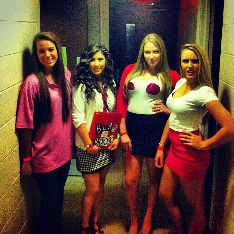 The Plastics and Cady. Mean Girls halloween costume idea ...