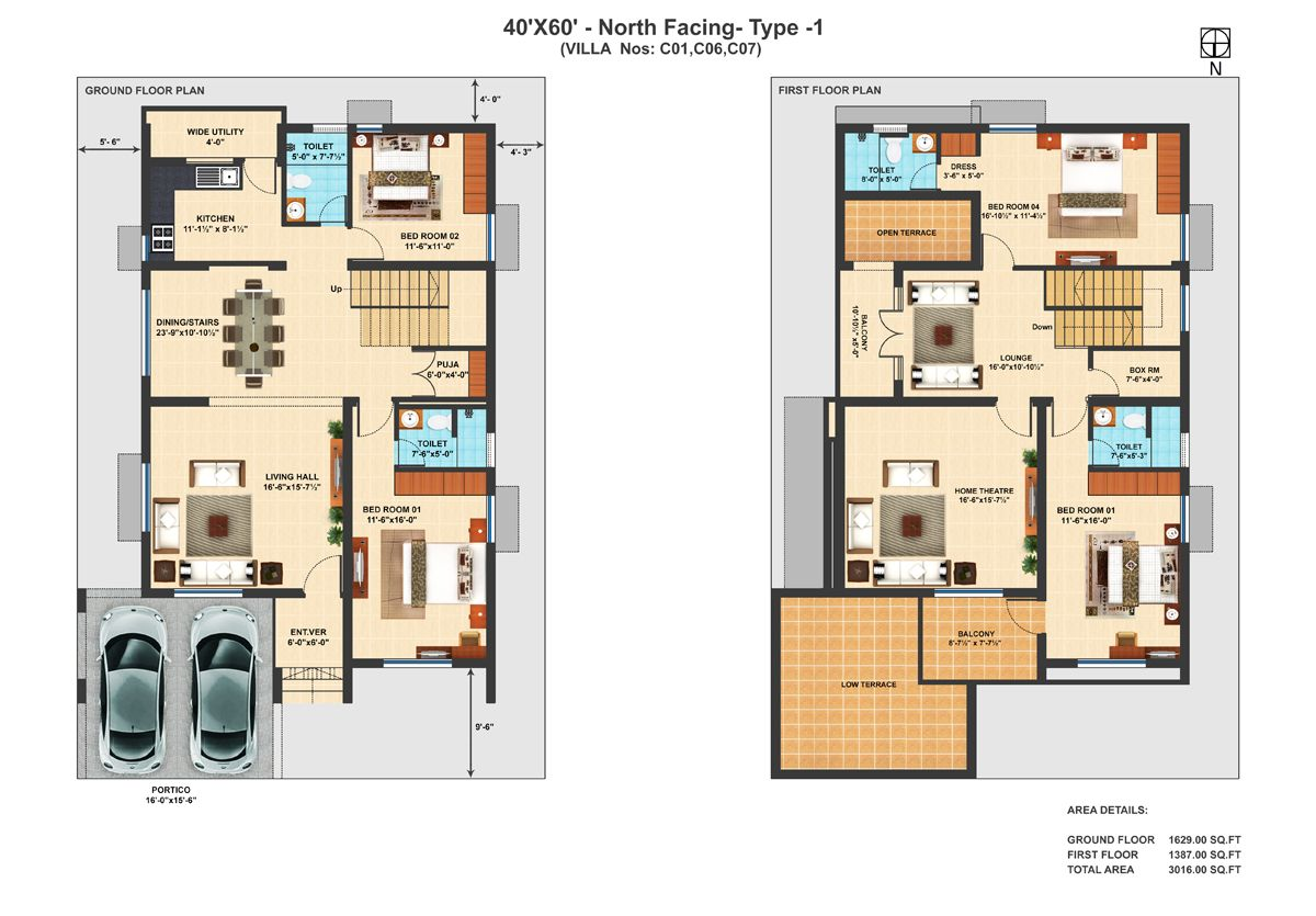 North Facing House Plans In Tamilnadu 2bhk House Plan North Facing House 30x50 House Plans