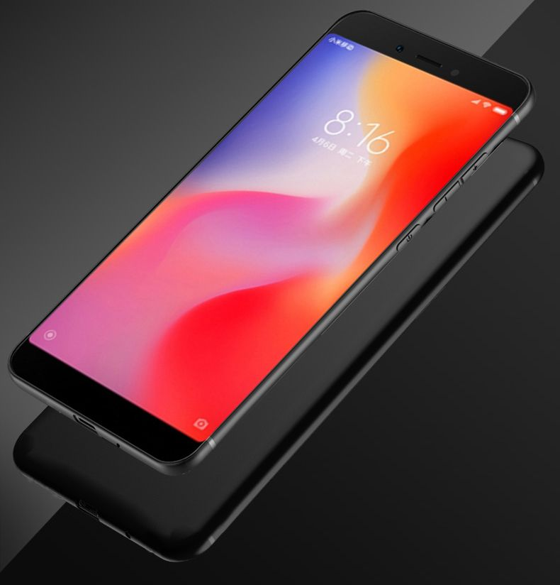 Soft Matte Case For Xiaomi Redmi 6a Case Full Protection Ultra Thin Silicone Tpu Cover For Xiaomi Redmi 6 Pro 6a Scrub Shell Xiaomi Case Protection