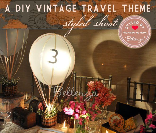 Diy Vintage Travel Wedding Theme Highlights Of Our Styled Set Vintage Travel Wedding Theme Travel Theme Wedding Vintage Travel Wedding