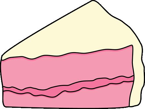 cake slice clip art slice of pink cake with white frosting clip rh pinterest com slice of chocolate cake clipart slice of cake clipart image