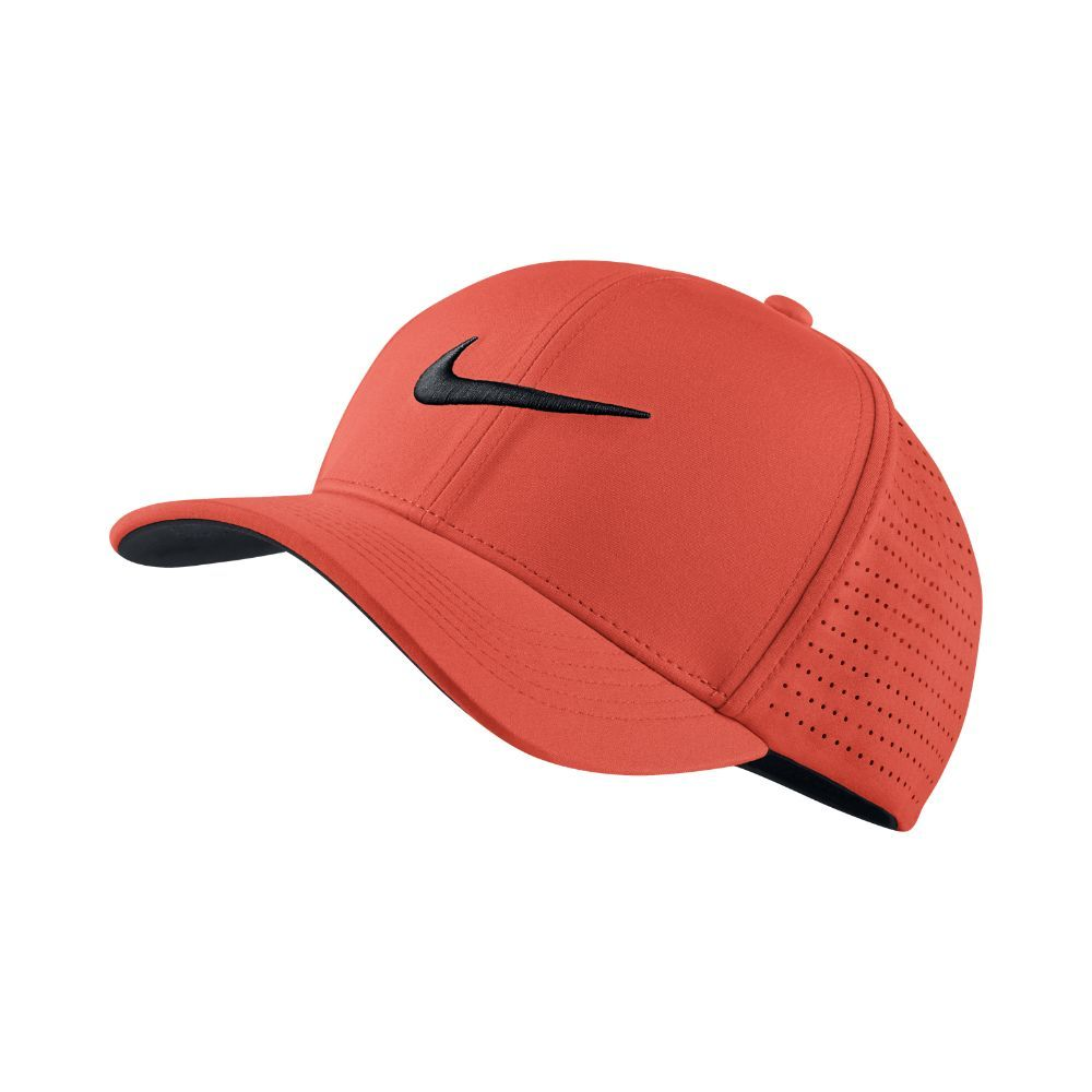 9aa9c232113 Nike Classic 99 Fitted Golf Hat Size Large XL (Orange)  GolfHat ...