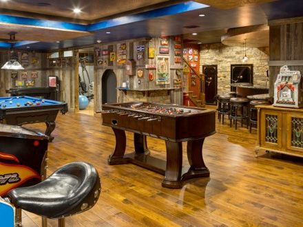 Basement Remodel Kansas City awesome lower level game room basement remodeling project - chc