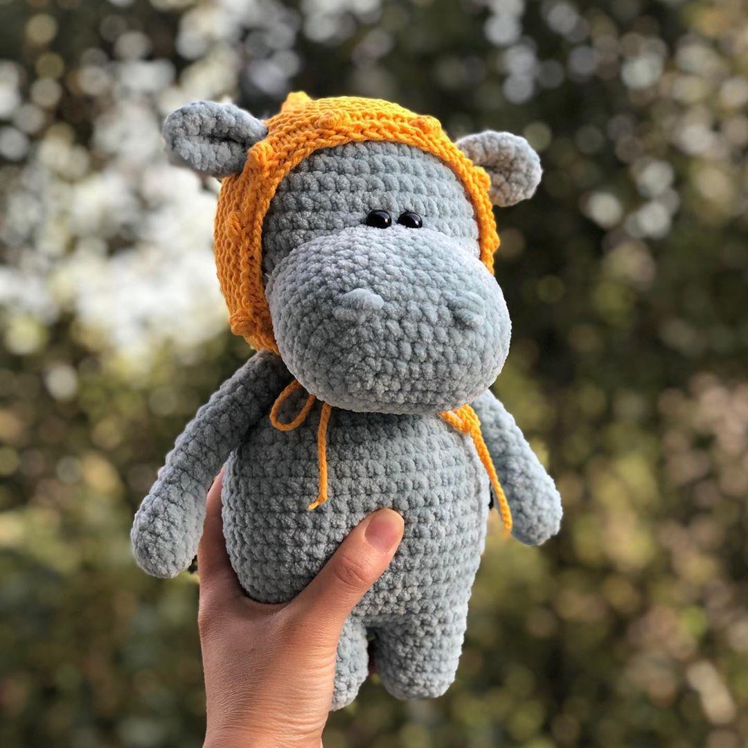 Free Crochet Patterns | Free Crochet Pattern Hippo Amigurumi ... | 1080x1080
