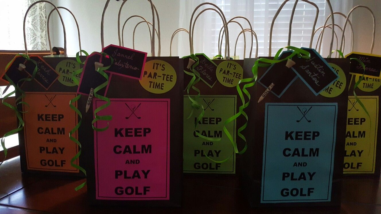 Keep Calm and Play Golf Goody Bags