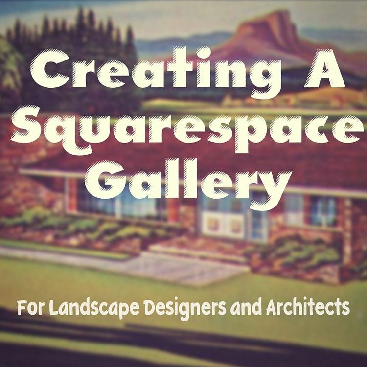 Landscape Architect Portfolios On Squarespace Websites Landscape